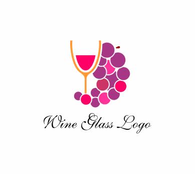 389x346 Drink Wine Grapes Food Vector Logo Download Vector Logos Free
