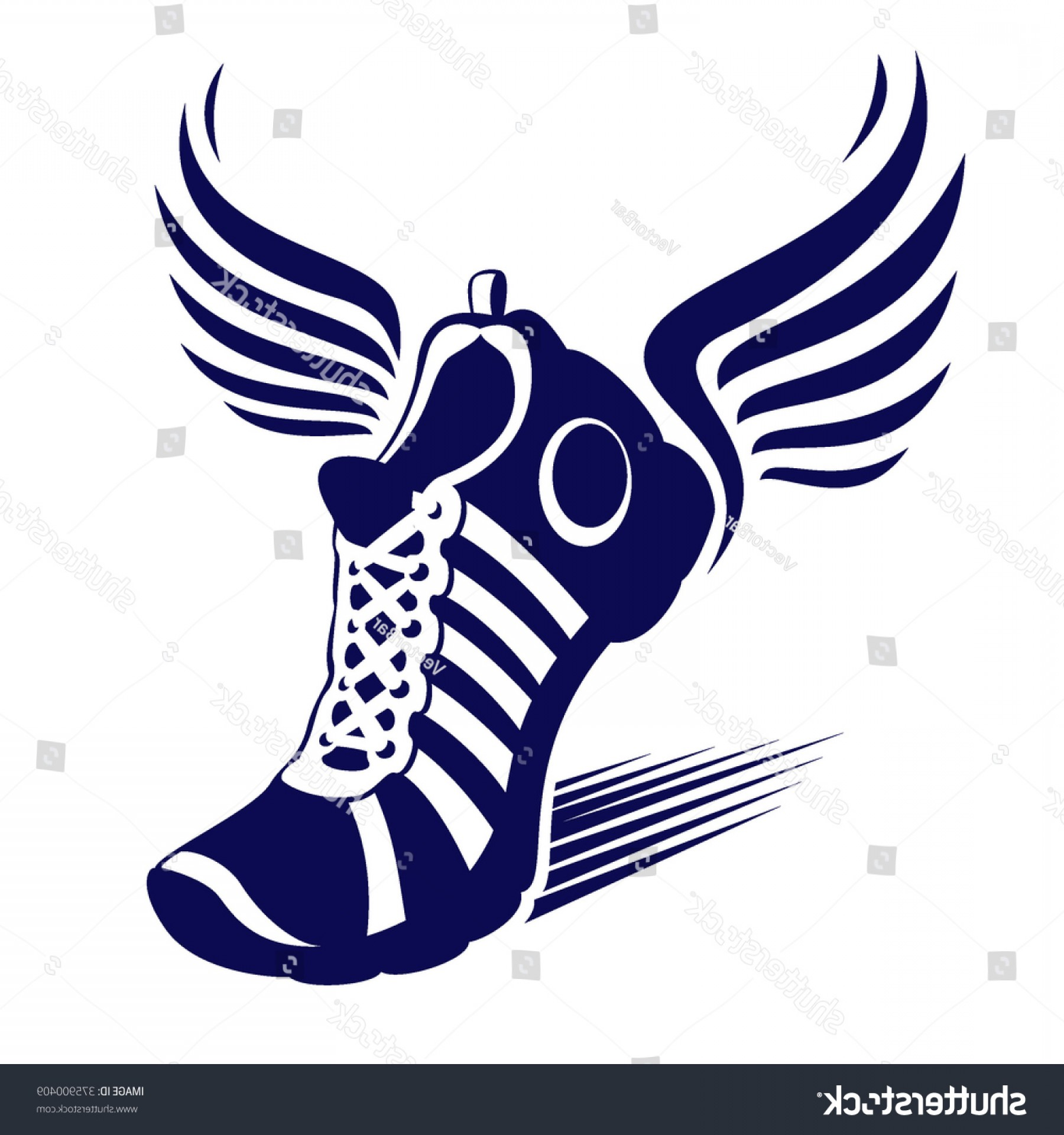 1800x1920 Track Winged Foot Vector Createmepink