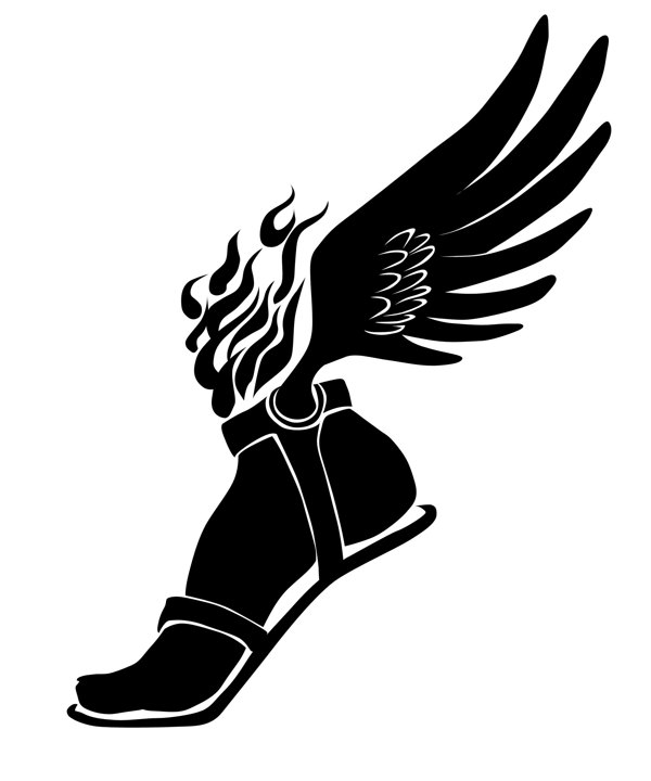600x720 Winged Foot Logo Group With Items