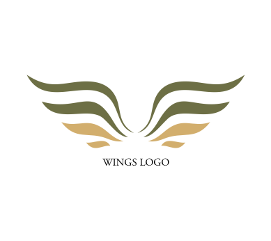 389x346 Vector Eagle Wings Logo Inspiration Download Vector Logos Free