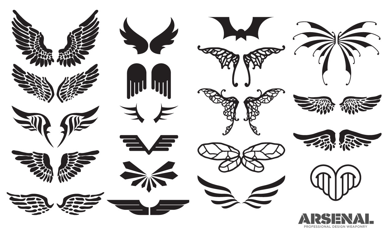 1270x770 Wing Vector Pack 4