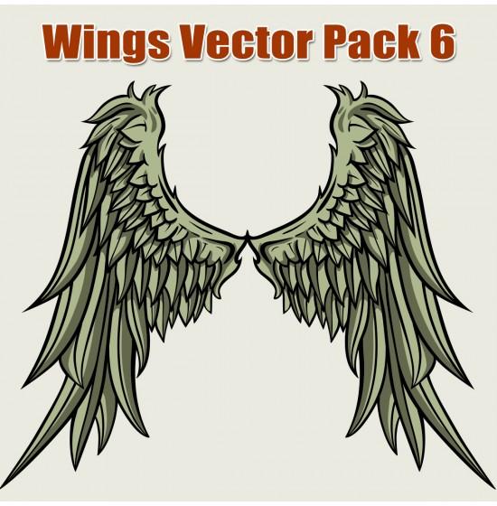 550x560 Wings Vector Pack 6