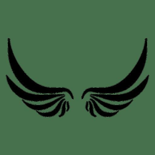 512x512 Open Wavy Wings
