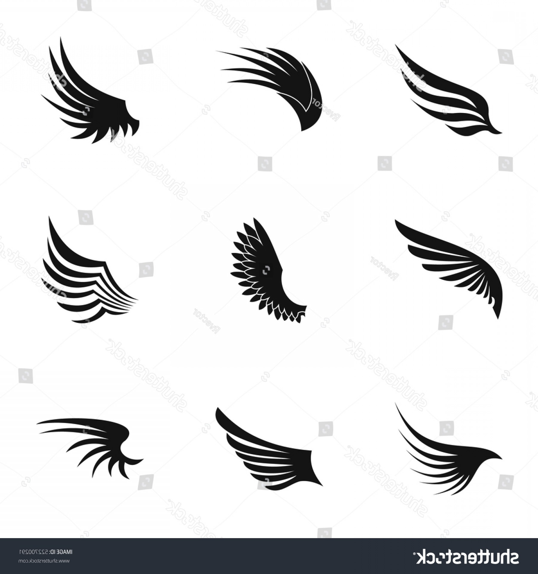 1800x1920 Simple Wings Vector Png Arenawp