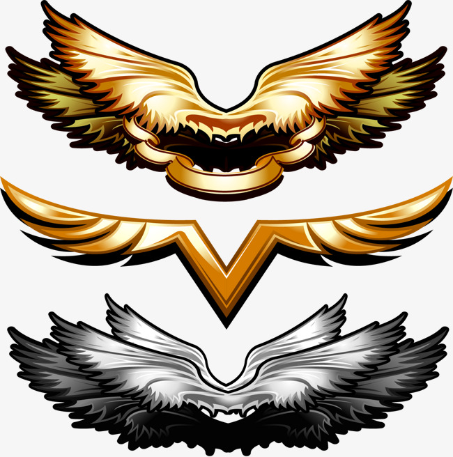 650x656 Vector Metal Wings, Vector, Metal, Wing Png And Vector For Free