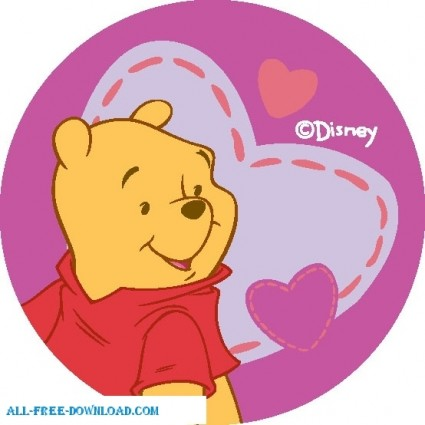 425x425 Winnie The Pooh Pooh Vector Cartoon Free Vector Free Download
