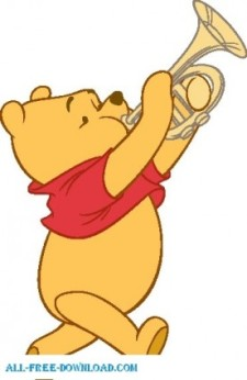 225x346 Winnie The Pooh Pooh 027 Free Vector 4vector