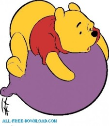 225x260 Winnie The Pooh Pooh 066 Free Vector 4vector