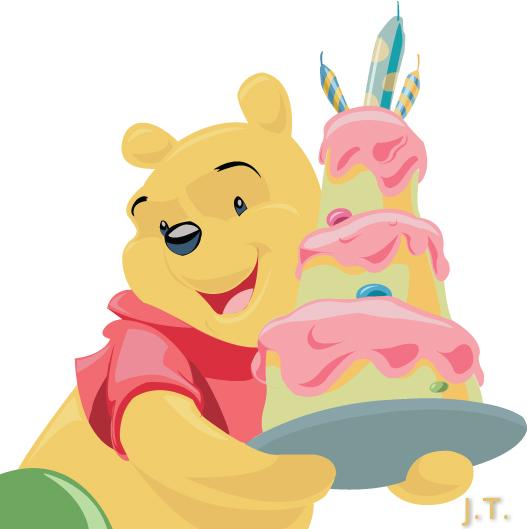 527x529 Winnie The Pooh Vector Art By Ralosity