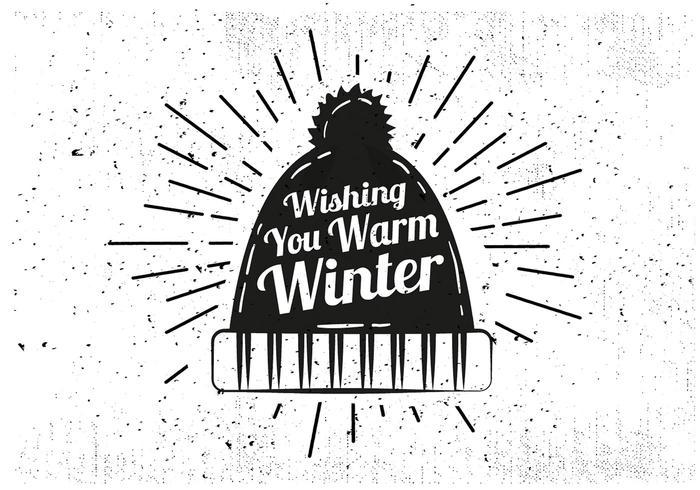 700x490 Free Hand Drawn Winter Hat Vector Background