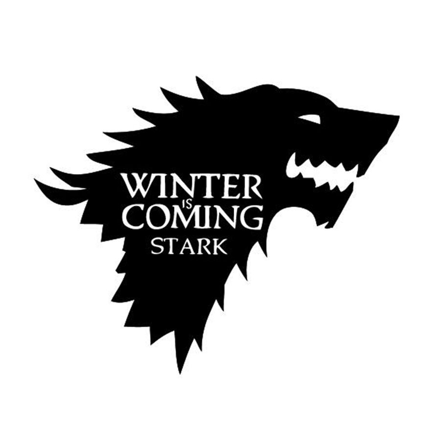 900x900 Free Shipping Stark Vinyl Decal, Game Of Thrones Sticker In Wall