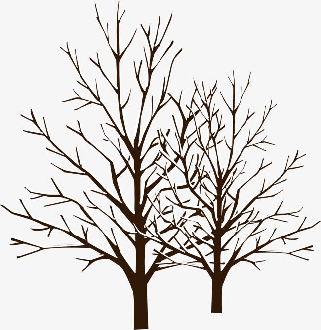 650x667 Winter Trees, Creative Hanging Snow, Vector Hanging Snow, Png