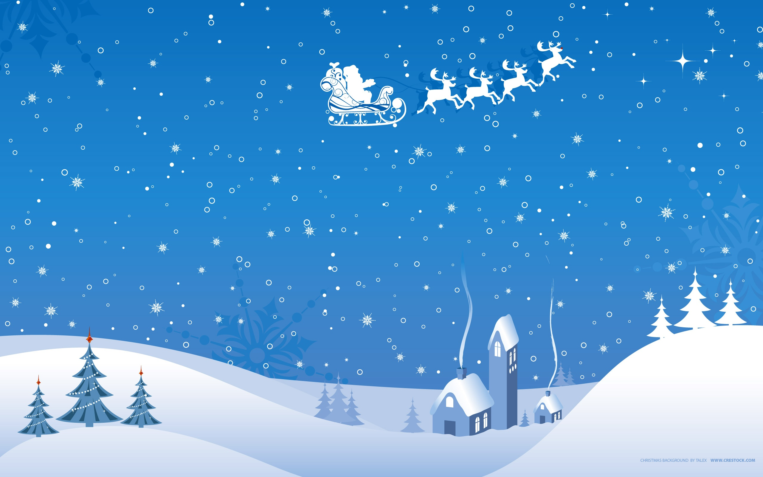 2560x1600 Christmas Winter Vector Wallpapers In Jpg Format For Free Download