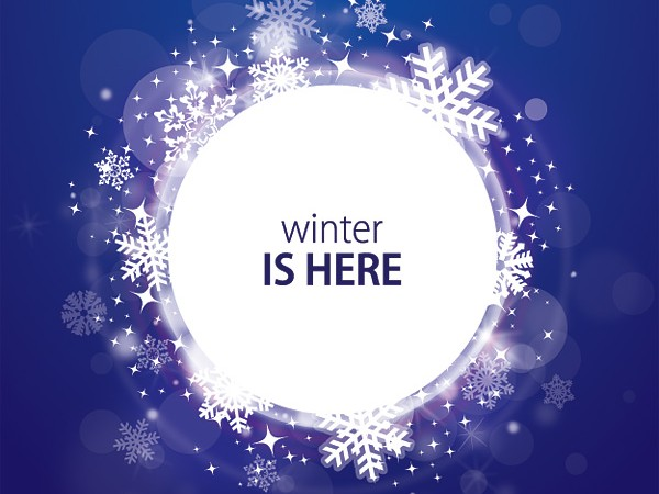 600x450 Winter Is Here Free Vector Graphic