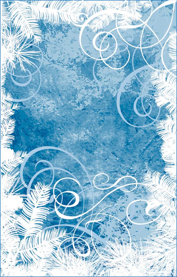600x937 Winter Vector Background Free Vector 4vector