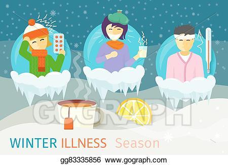 450x326 Flu Clipart Winter ~ Frames ~ Illustrations ~ Hd Images ~ Photo