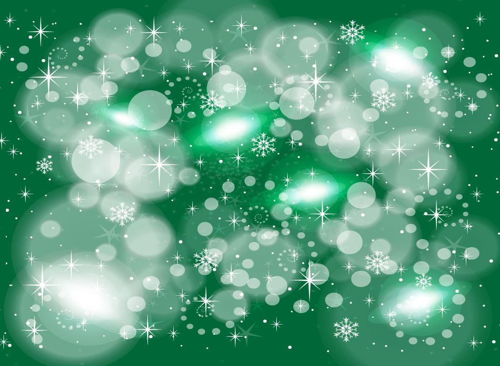 1024x750 Green Winter Vector Graphics