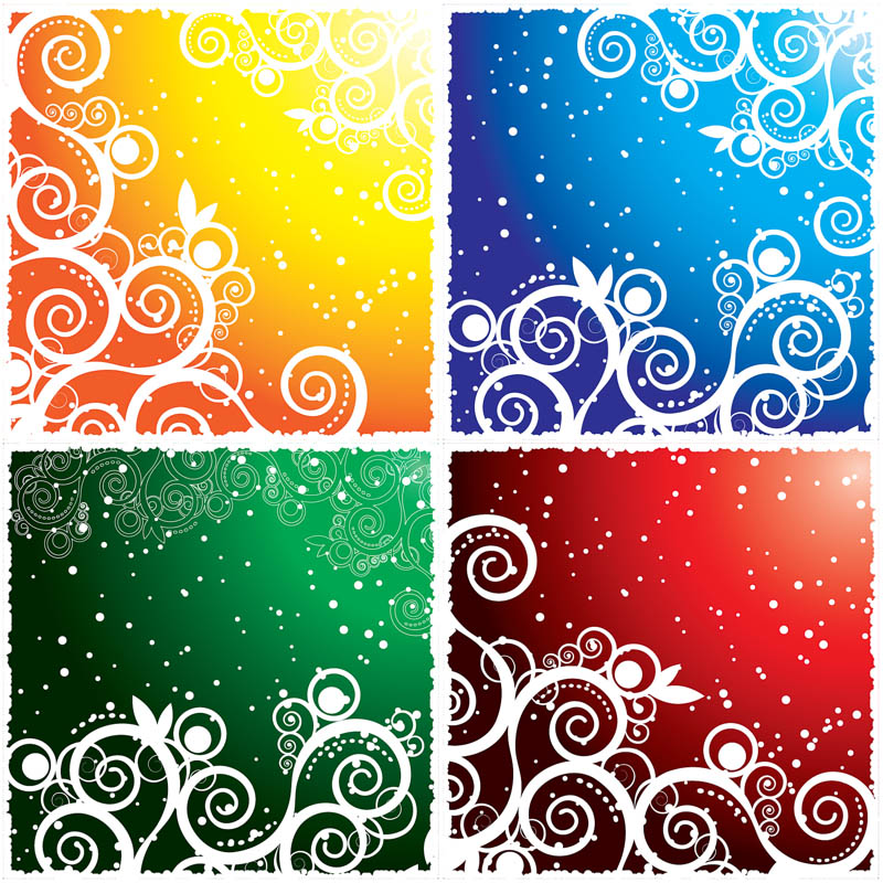 800x800 Ornate Winter Backgrounds Vector Vector Graphics Blog