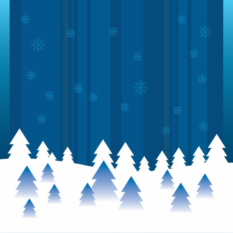 786x786 Vector Abstract Winter Background Free Vector Graphics All