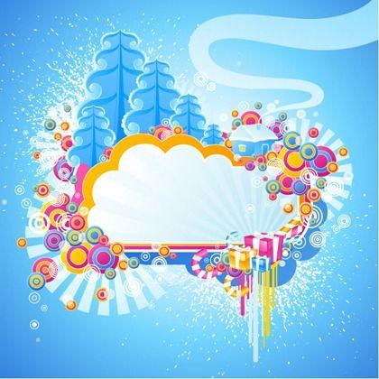 420x420 Vector Graphic Cold Winter Graphic Design Vector