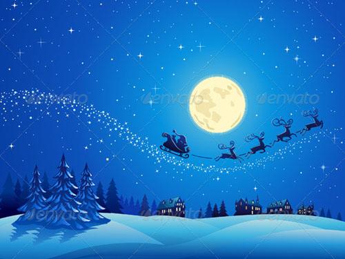 500x375 Amazing Packs Of Free And Premium Christmas Vector Graphics