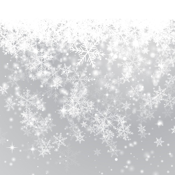 600x600 Beautiful Winter Snowflake Background Vector Graphics My Free