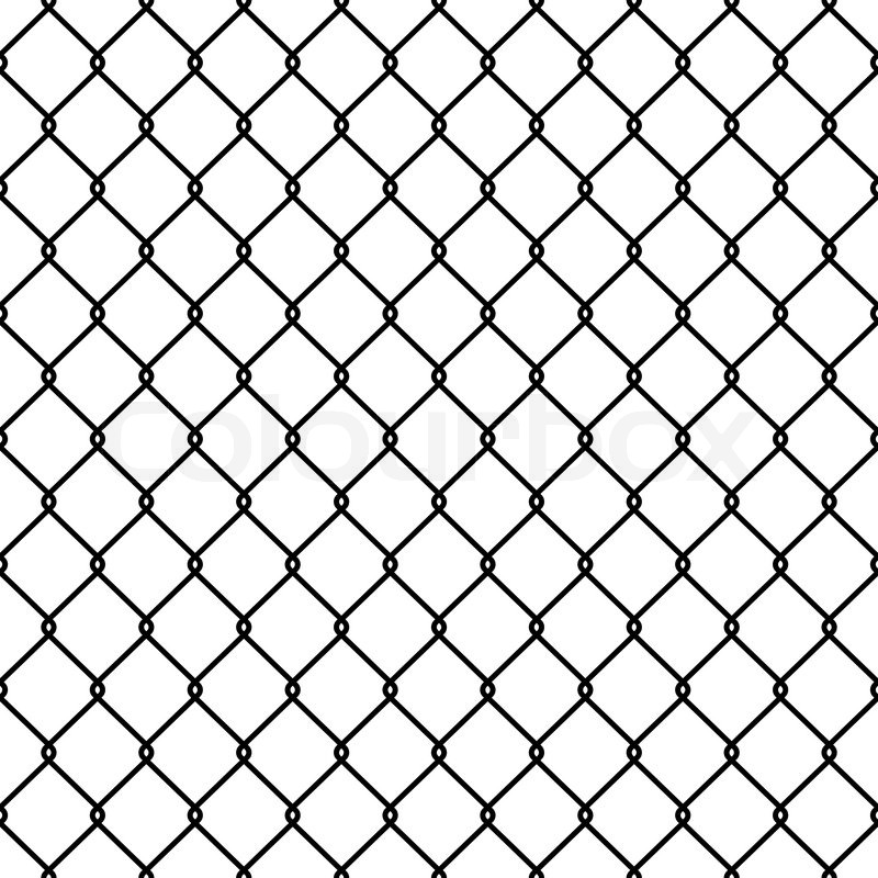 800x800 Steel Wire Mesh Seamless Background. Vector Illustration Stock