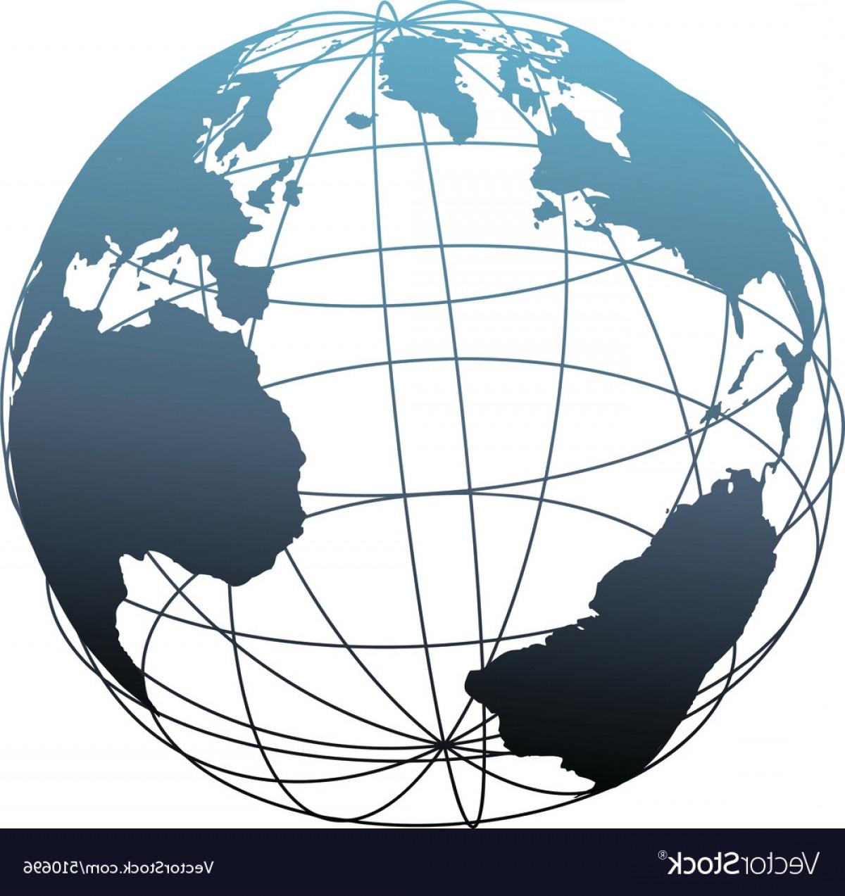 1200x1273 Global Wireframe Latitude Atlantic Earth Globe Vector Shopatcloth