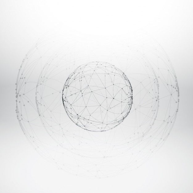 626x626 Mesh Wireframe Sphere Vector Free Download