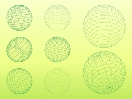 267x200 Wireframe Globe Free Vector Graphic Art Free Download (Found 1,580