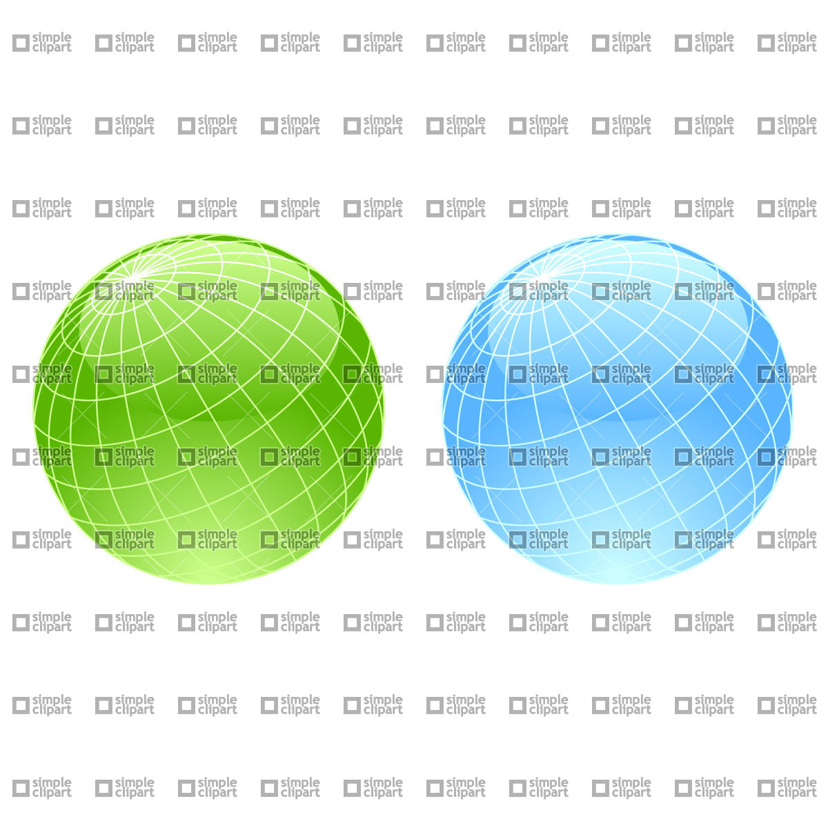 1200x1200 Wireframe Globe Icons Vector Image