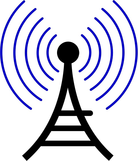 484x564 Radio Wireless Tower Cor Free Vector In Open Office Drawing Svg