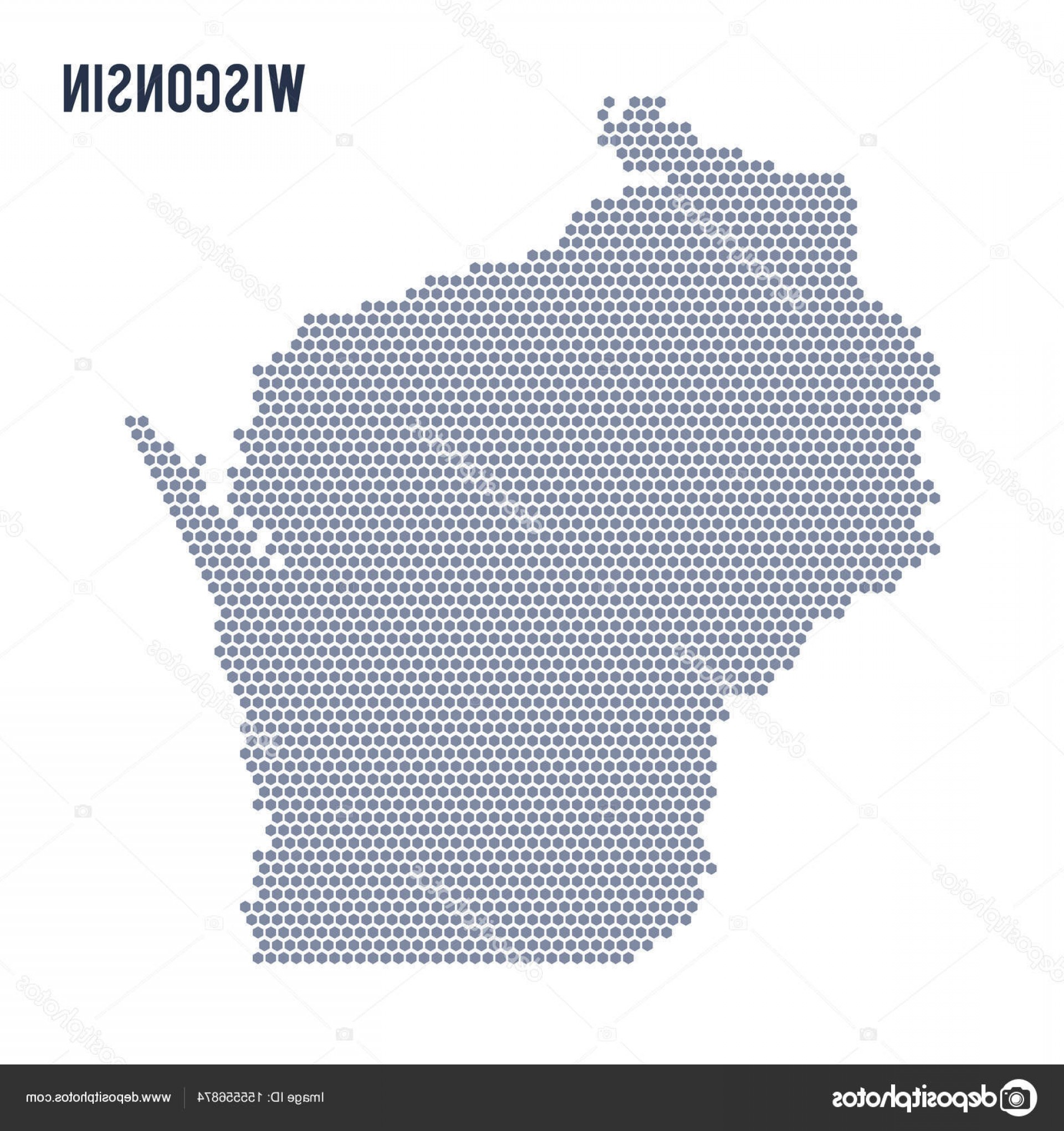 1920x2040 Wisconsin State Vector Lazttweet