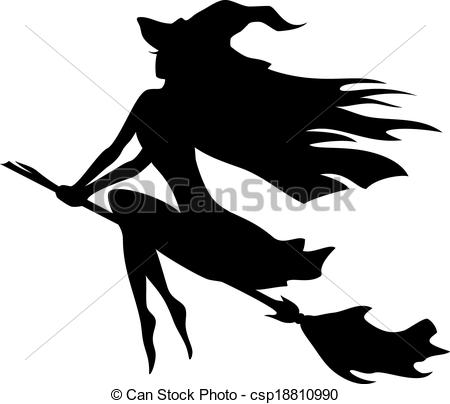 450x404 Witch Clipart Vector