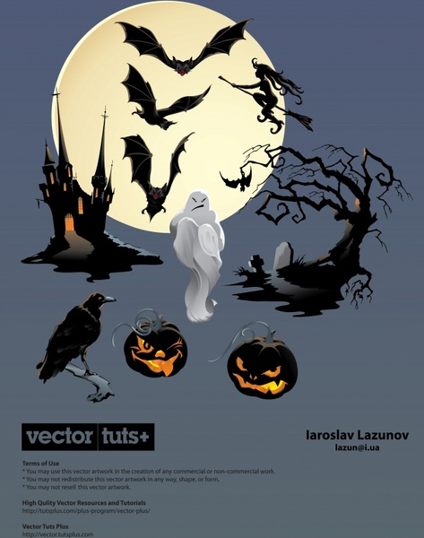 473x600 Halloween Bat Witch Vector Free Vector In Adobe Illustrator Ai