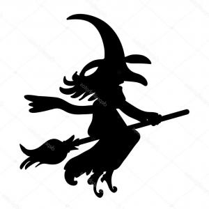 300x300 Stock Illustration Halloween Creepy Scary Witch Vector Rongholland