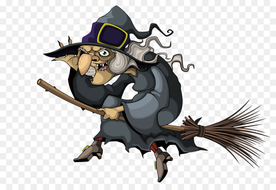 900x620 Witchcraft Witchs Broom Illustration