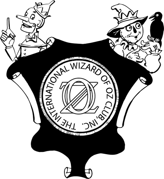550x600 International Wizard Of Oz Club 0 Free Vector In Encapsulated
