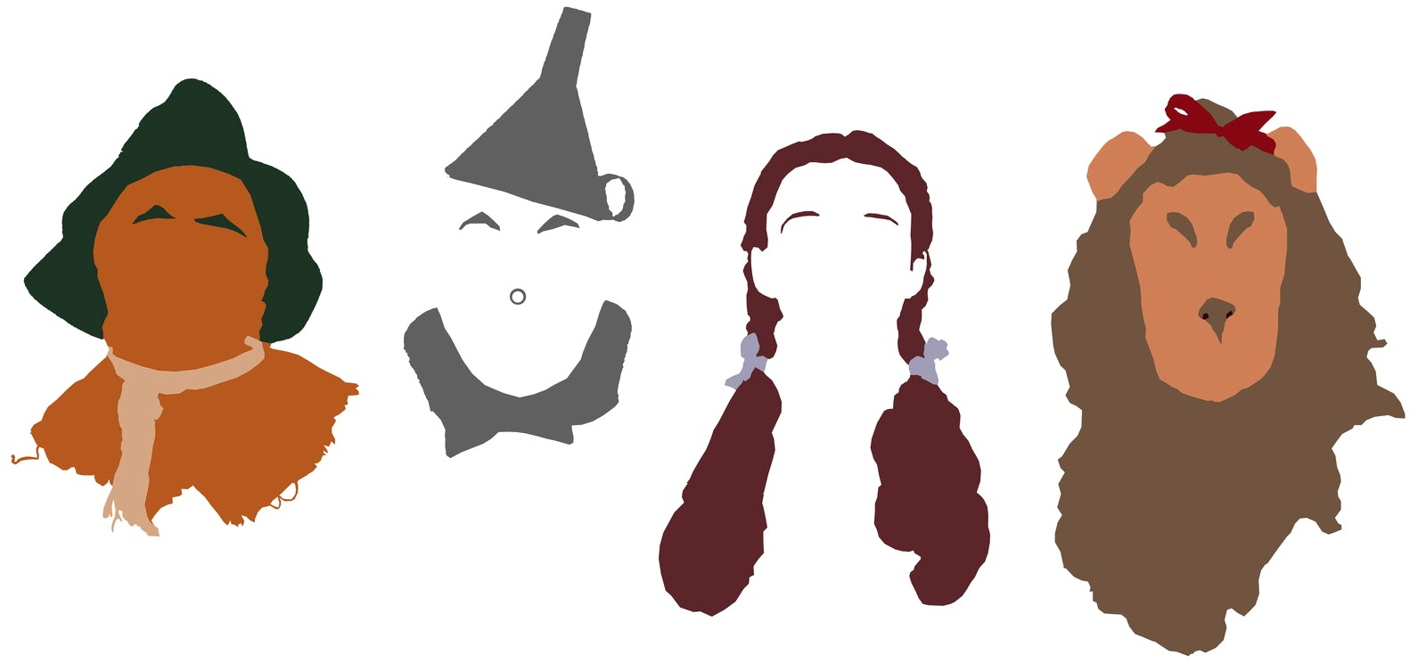 1600x753 Wizard Of Oz Silhouette Vector 24 12 Clipart