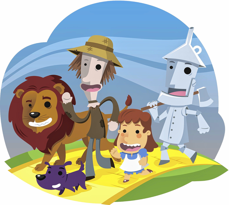 3000x2687 Wizard Of Oz, Vector Illustration Cartoon. Valley Advocate