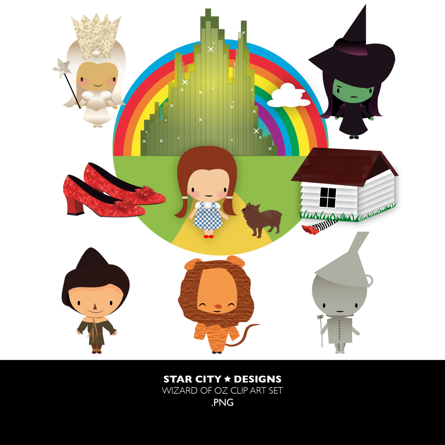 1500x1500 Wizard Of Oz Clip Art Clipart, Vector Art, Graphics For Personal