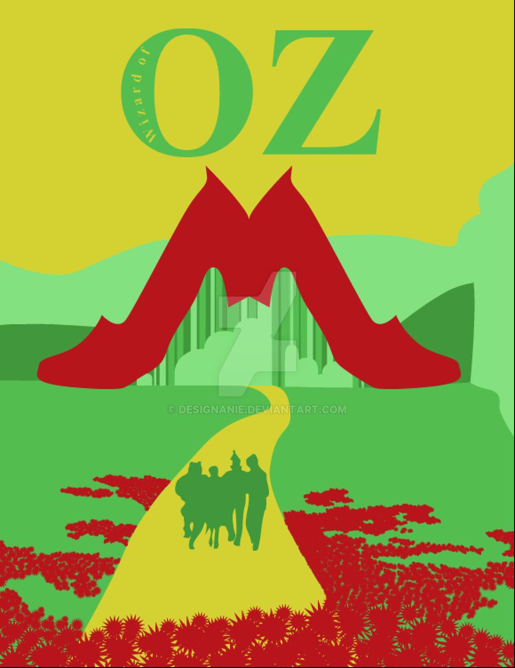 1024x1328 Wizard Of Oz Movie Poster 1 By Designanie