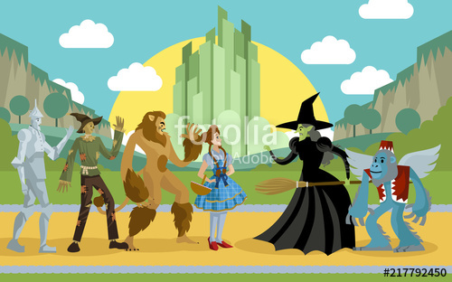 500x312 Wizard Of Oz Characters Stock Image And Royalty Free Vector Files