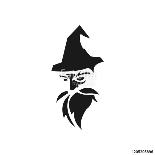 500x500 Old Wise White Wizard Vector Stock Image And Royalty Free Vector