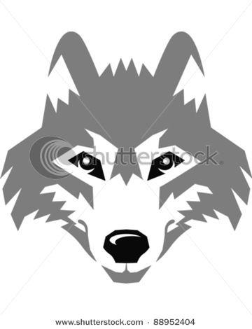 Wolf Eyes Vector