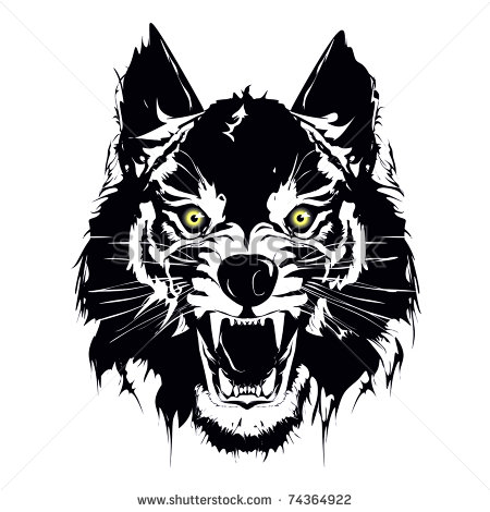 450x470 6 She Wolf Vector Images