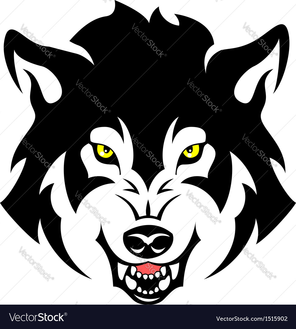 973x1080 Angry Wolf Face Clipart Collection
