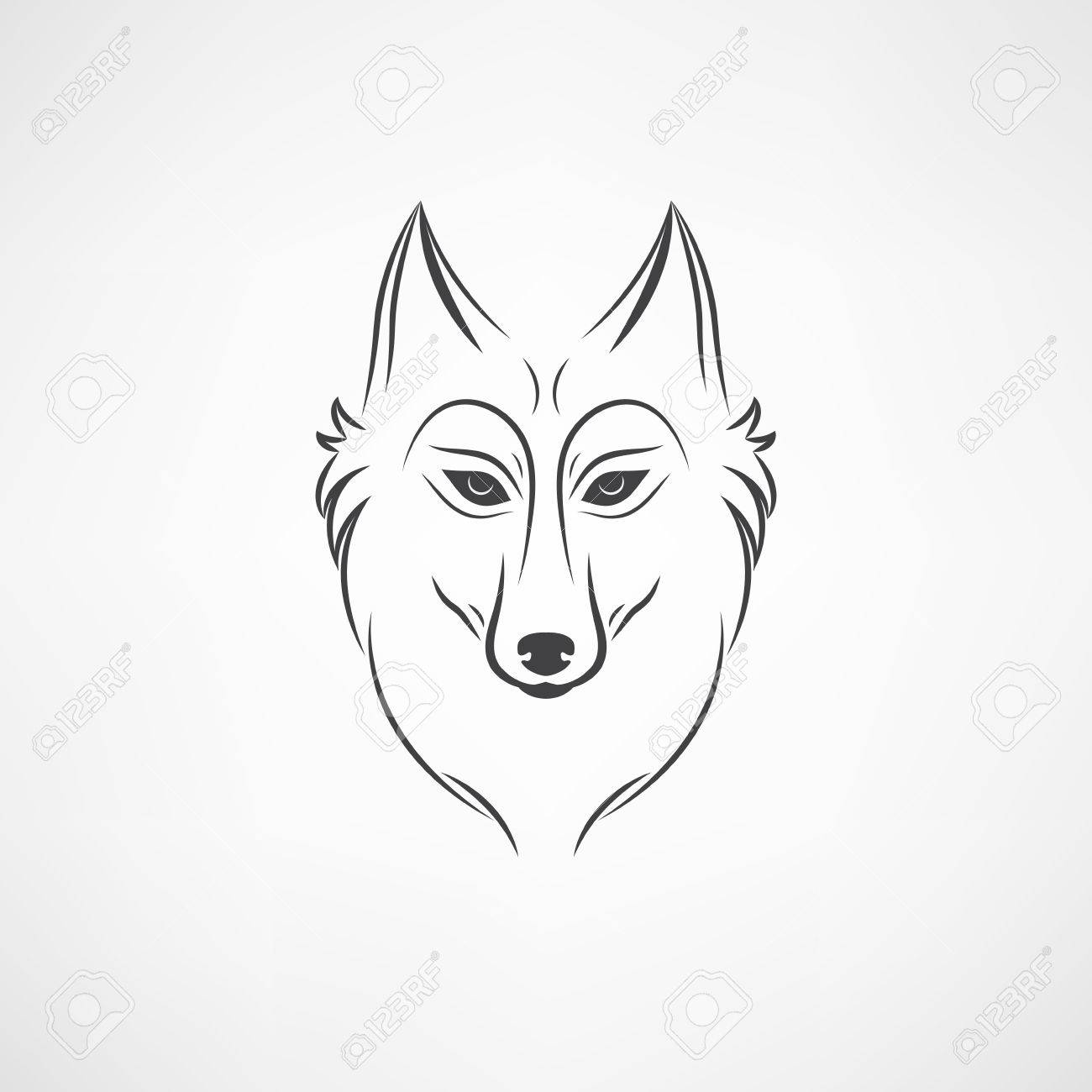 1300x1300 Free Wolf Face Icon 224993 Download Wolf Face Icon