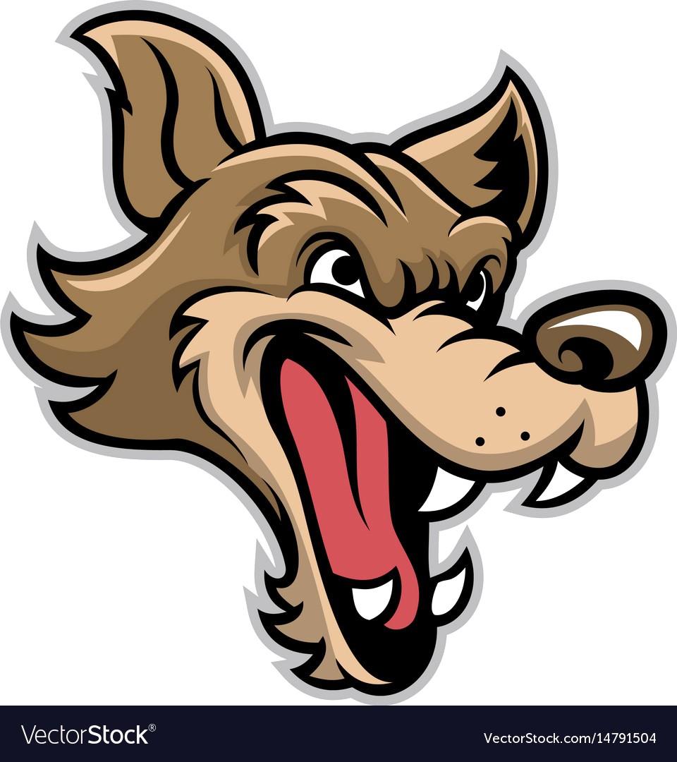 960x1080 Cartoon Of Bad Wolf Head Vector 14791504 15