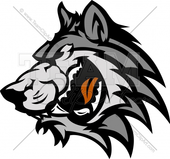 590x552 Wolf Logo Clipart Image. Easy To Edit Vector Format.